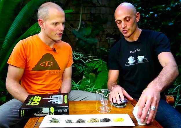 A Tim Ferriss Interview In Action Talking About Tea